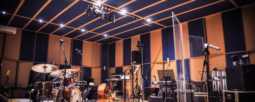 Aufnahmen in Studio 1